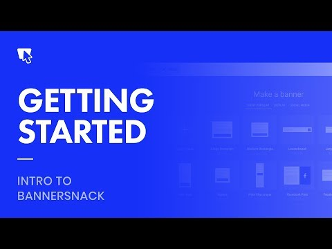 Bannersnack Tutorial - Getting Started