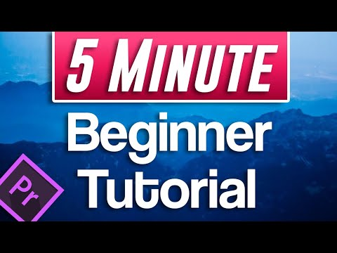 How to Edit Video for Beginners Tutorial   Premiere Pro 2020