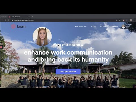 Loom Chrome Extension Intro🎥😄