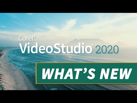 See What's New in VideoStudio 2020