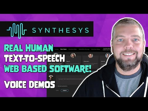 Synthesys Review & Voice Demos - Synthesys Text to Speech Software