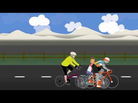 Explaindio Tutorial - 11 - How to Create a Easy Short Animation of Cycle Race