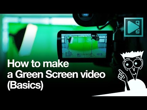 How to make a green screen video for free in VSDC