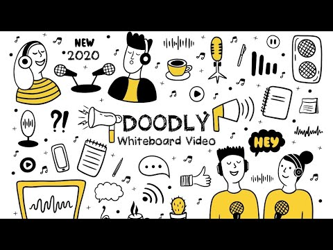 [Full] Doodly Make Doodle Videos Sketch Animation Style or Whiteboard Drawing Explainer Videos