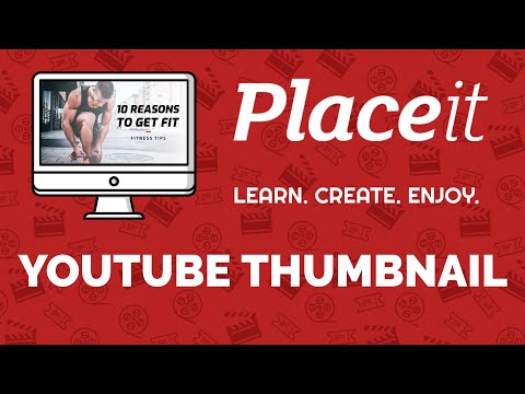 How To Make A Youtube Thumbnail Without Photoshop - Placeit Tutorial