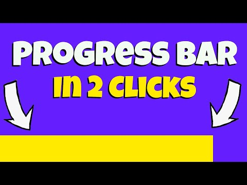 Add a Progress Bar To Any Video In Two Clicks