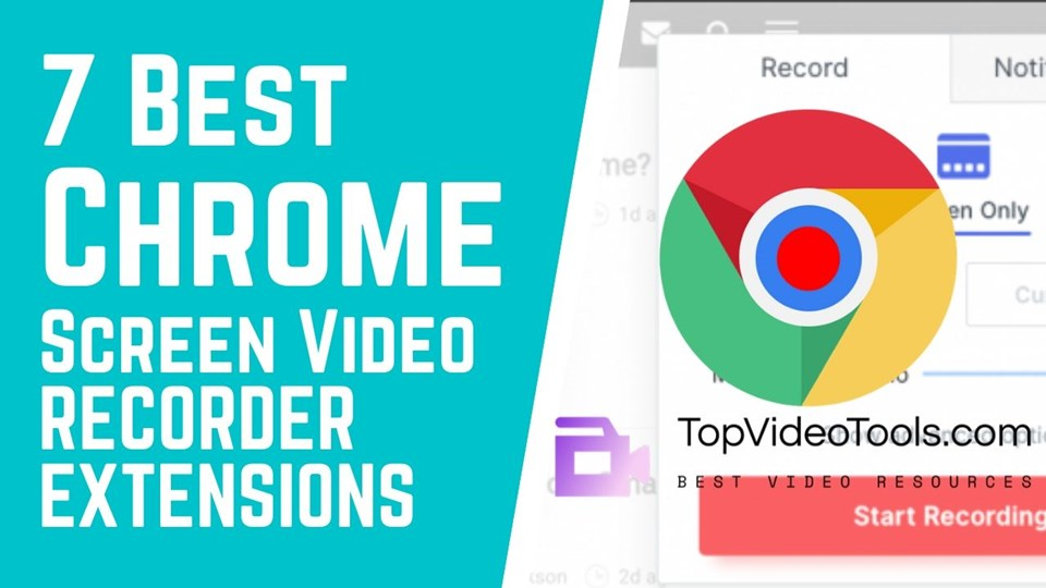 You are currently viewing 7 Best Screen Video Recorder Chrome Extensions