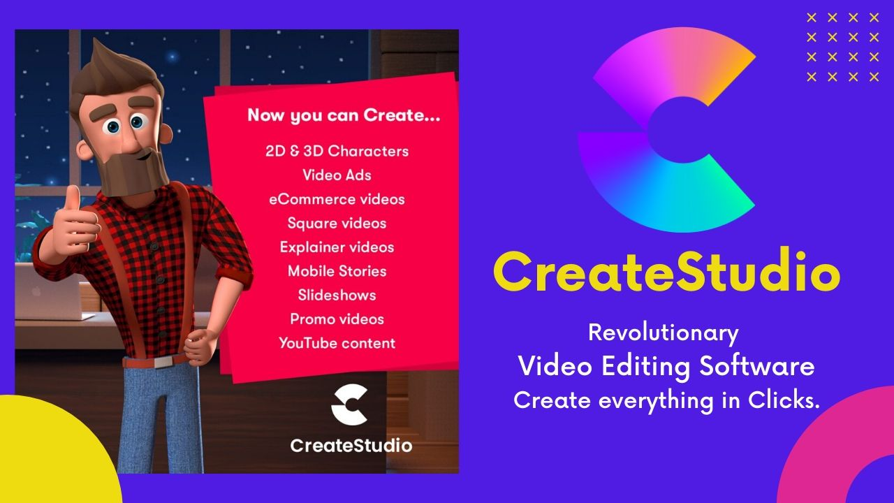 CreateStudio Review The Best Video Animation Tool Win & Mac
